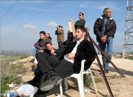 تماشای بمباران غزه، تفری� جدید شهرکنشینهای اسرائیل