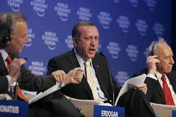 اردوغان در بین پرز و ایگناتیوس