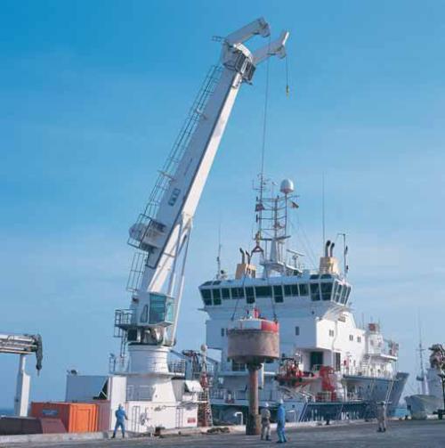 جرثقیل خاص منظوره دریائی Deck Crane