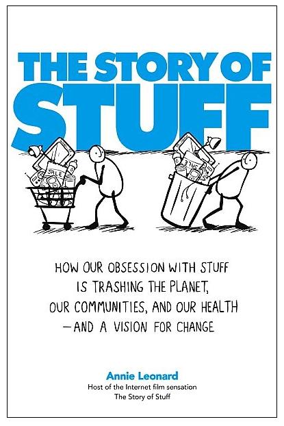 روی جلد کتاب «داستان اشیاء»